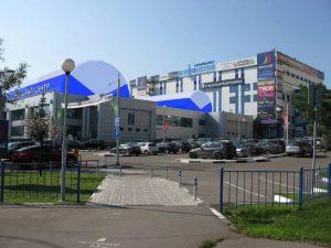 Пневмокаркасные сооружения на здании (ул. Азовская, д. 24)